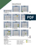 SISC Calendar - 2014