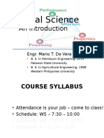 Material Science Intro