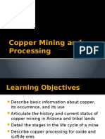 Copper Mining Processing Lecture Final
