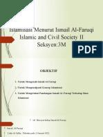 Islamisasi Menurut Ismail Al-Faruqi