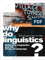 Why Do Linguistics - Reflective Linguistics by Fiona English