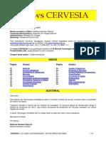 Newsletter CERVESIA 82 Novembro e Dezembro 2010