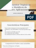 Compuestos Orgánicos No Metálicos de Fosforo (1)