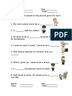 Fill in The Blanks Worksheet For English Year 2