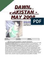 Dawn E-Paper 2008 - May-December