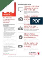 Snapdragon 810 Processor Product Brief