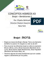 Conceptos Hebreos 43 Bendiciones 2
