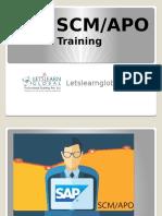 SAP SCM/APO Online Training in Hyderabad, SAP SCM/APO Online Training Classes, SAP SCM/APO Online Training Institutes Hyderabad