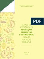 Marco Referencia de Educacao Nutricional Alimentar 2012
