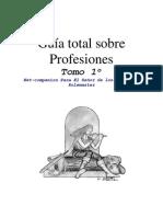 Guía total sobre profesiones - Tomo 1