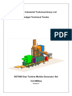 TechnicalSGT400 Mobile Genset
