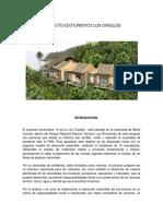 Proyecto Ecoturistico Los Ciruelos