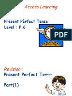 Present Perfect - Already Yet
