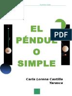 Péndulo Simple Vale