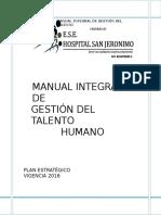 Plan Estrategico de Recursos Humanos 2016 (1)