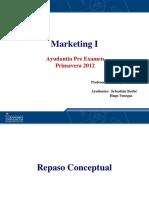 Marketing - Resumen Examen Uribe