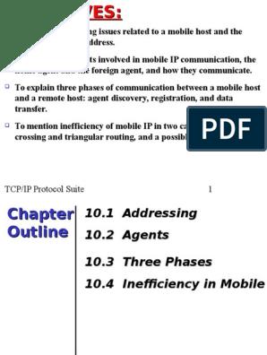 TCP/IP Protocol Suite 1