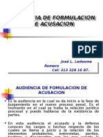 Audiencia Formulacion de Acusacion - Preparatoria