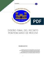 Diseño Final Del Recinto Penitenciario de Mocovi
