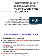 1 Accuracy and Fluency