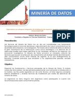 Minera de Datos - Temario - Eafit