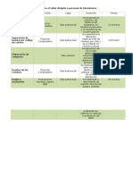 Anexo 1 Carta Descriptiva Para El Taller Dirigido a Personal de Intendencia