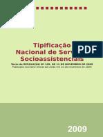 Tipificacao Nacional de Serviço Socioassistencial