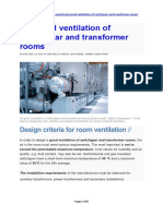 Article - The Good Ventilation of Switchgear and Transformer Rooms 18Dec2015.pdf