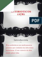 ANTIBIOTICOS (ATB)