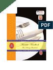 SAMPLE Fine Dining Handbook