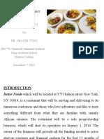 Better Foods Presentation