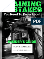 Iardella - Top Training Mistakes