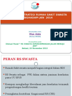 Kesiapan Dan Strategi RS Swasta Dalam JKN Dr.mus AIDA MARS