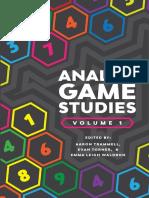 Analog Game Studies Trammell Torner Waldron Etal Web