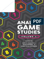 Analog Game Studies Trammell Torner Waldron Etal Web