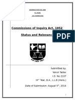 Commissions of Inquiry Act, An Analysis.docx