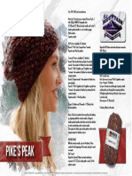 FreePattern MyMountain Pikespeak 0