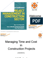Cost Time Overun Presenatation to Instruct