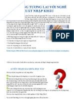 Thông tin khóa học nghiệp vụ Xuất nhập khẩu