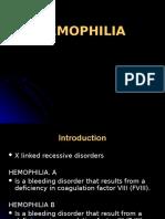 K - 26 Hemophilia