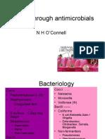 A Romp Through Antimicrobials