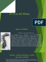 El Virus Del Ebola