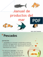 Manual Prod Del Mar