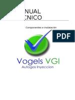 Manual Tecnico de Instalacion Vogels Autogas