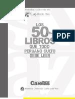 Los 50 Libros Que Todo Peruano Culto Debe Leer