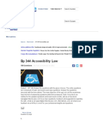 BP 344 Accessibility Law