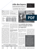 Bulletin d'information sur le droit au logement du RCLALQ