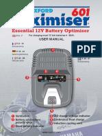 OF600 Oximiser601 Instructions