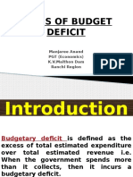 Manjaree Demo Class-types of Budget