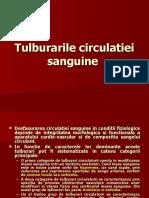Curs 1 - Tulburarile Circulatiei Sanguine Staza, Embolie, Tr